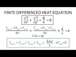 finite difference heat equation