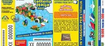Vigilia per la Lotteria Italia, caccia ai cinque milioni di euro ...