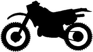 Dirt Bike Vinyl Cut Decal