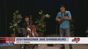 Jake Shimabukuro joined by Josh Nakazawa serenades with music to -  Honolulu, Hawaii news, sports & weather - KITV Channel 4