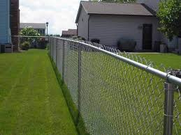 Galvanized Chain Link New York State Fence