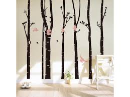 Forest Birds Trees Home Decoration Art Wall Decal Wall Stickers For Kids Room Living Room Bedroom Tv Background Newegg Com