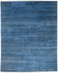 essential wool landscape blue rug