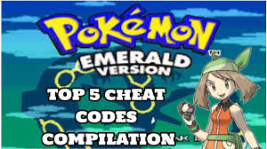 My TOP 5 Pokemon Emerald Cheat Codes // Cheat code compilation ...