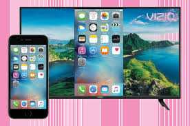 to mirror iphone to vizio tv