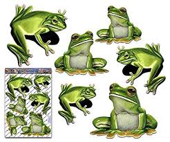 Amazon Com Jas Stickers Frogs Animal Car Decals Green Tree Large Vinyl Sticker Pack For Laptop Caravans Trucks Boats St058 3 Handmade