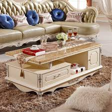 marble coffee table european style