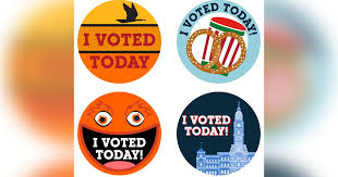 Didn T Get An I Voted Today Sticker At The Polls City Council Made These Philly Inspired Stickers Phillyvoice