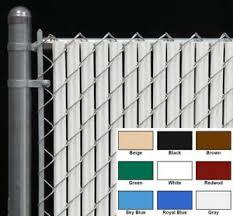 Chain Link Fence Privacy Slat For 4 Ft High Fence Single Wall Bottom Lock Slat Ebay
