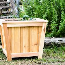 Easy Diy Tapered Planter Build Plans Houseful Of Handmade