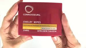 Connoisseurs- Jewellery Wipes, How to Use? - YouTube