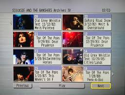 siouxsie and the banshees the video