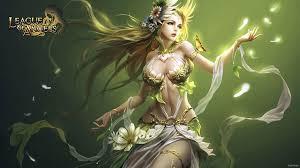 Ivy Edwards - Best league of angels backround - 1920x1080 px | Chiến binh,  Anime, Nữ chiến binh