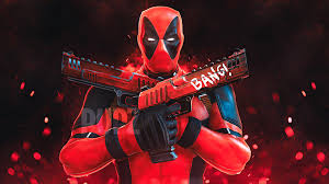 deadpool gun up hd superheroes 4k