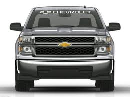 Chevy Chevrolet Truck Windshield Banner Decal Sticker Midwest Sticker Shop