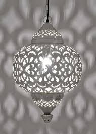 moroccan hanging lights fez nickel