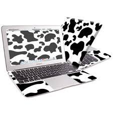 Skin Decal Wrap For Apple Macbook Air 11 11 6 Sticker Cow Print Walmart Com Walmart Com