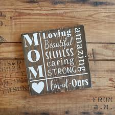 Mother Wood Sign Rustic Mother Sign Farmhouse Style Sign Mothers Day Signs Mother Sign Gifts For Moms Mothers Day Gifts Signs For Mom In 2020 Mothers Day Signs Signs For Mom