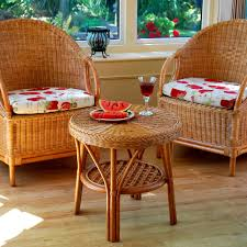 cane chairs wicker chairs and table set