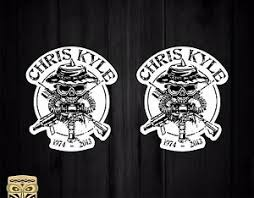 Sticker Decal Sticker Autocollant Adesivi Aufkleber Chris Kyle American Sniper Ebay