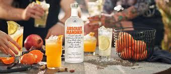 orange vodka absolut mandrin