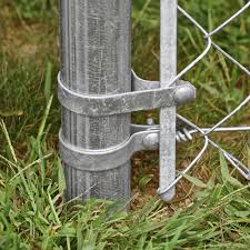 2 3 8 Galvanized Chain Link Fence Brace Band At Menards