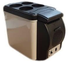 6l portable 12v mini car freezer cooler