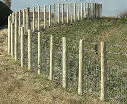 Images Of Fences As You Can See From The Image Above When Stock Fencing Is Erected Backyard Fences Farm Fence Fence Design