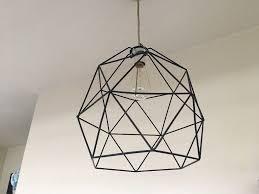geometric light fixtures modern