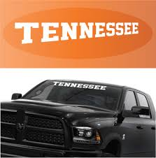 Tennessee Decal Custom Windshield Banner Topchoicedecals