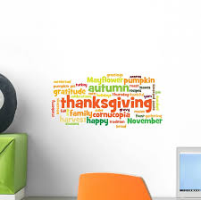 Happy Thanksgiving Wall Decal Wall Decals All White Background Fall Cider