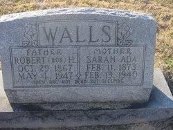 Sarah Ada White Walls (1873-1940) - Find A Grave Memorial
