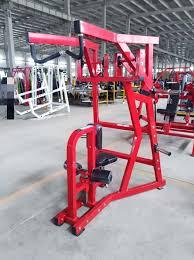 hammer strength pull down gym equipment