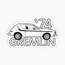 Amc Gremlin Stickers Redbubble