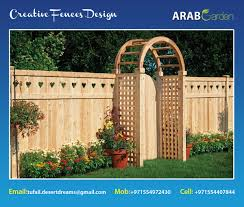 Outdoor Fences Uae Wooden Fence Kids Privacy Fences Garden Fences Uae Picket Fences Uae 2015