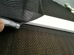 patio sliding screen door repair in