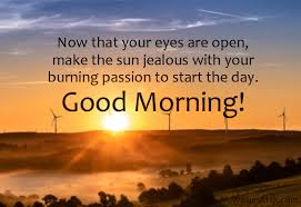 good morning message for friends