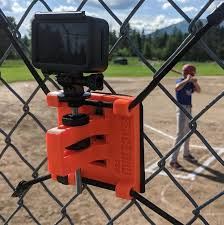 Action Camera Chain Link Fence Mount Gopro Hero Osmo Action Etsy