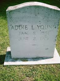Addie Young (1881-1975) - Find A Grave Memorial