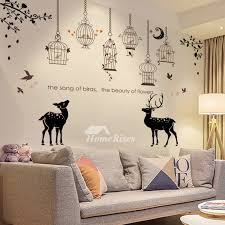 Towel Deer Ship Flower Girls Kitchen Wall Stickers Pvc Self Adhesive