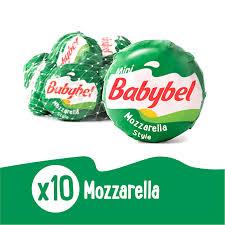 mini babybel snack cheese mozzarella