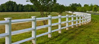 3 Rail Diamond Vinyl Fence Shoreline Vinyl Systems