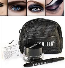 black gel eyeliner make up water proof