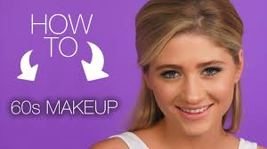 how to 60s makeup look super