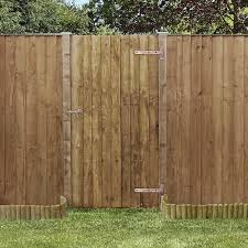 6ft Featheredge Pressure Treated Gate One Garden