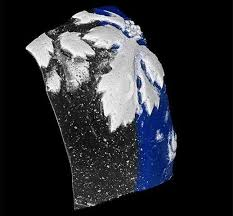 air bubbles in ancient glass reveal