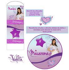 Kit Imprimible Violetta Personaliza Cumpleanos Y Festejos 25