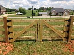 Wooden Farm Gate Farm Gate Farm Gate Entrance Farm Fence Gate