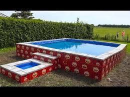 $44 homemade pool= priceless family fun! - YouTube | Beer ...