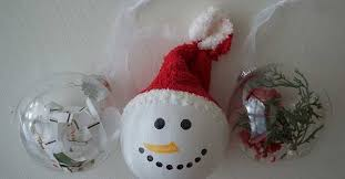 diy clear ball ornament ideas for